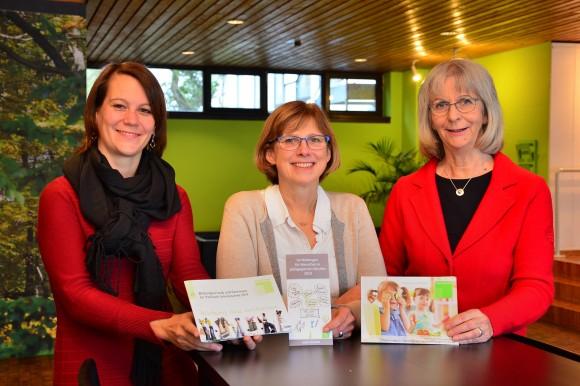 Drei der Pädagoginnen vom Haus Neuland: Nadja Bilstein, Carola Brindöpke und Monika Hansel.